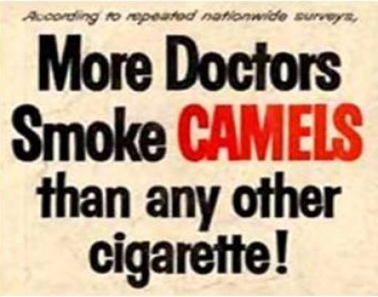 More doctors smoke Camel cigarettes ad