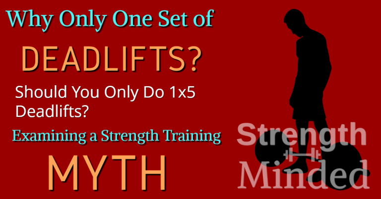 Why only one set of deadlifts?