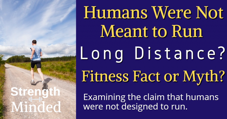 Are humans designed to run?
